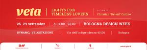 Illuminazione vintage: Lampada Vintage. Comunicato Stampa - VETA, lights for timeless lovers - Bologna Design Week @ Dynamo Velostazione